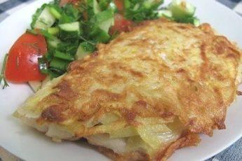 Рыбка в картофельной корочке — закуска на все сто